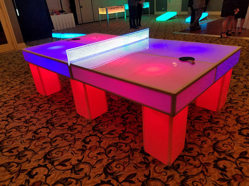 Glow Ping Pong. Add LED Ping Pong Tables ...